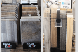 Building with affordability. BeauFlor© offered at Mumford's Kitchen, Bath & Flooring